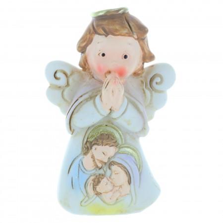 Ange avec la Sainte Famille 7cm
