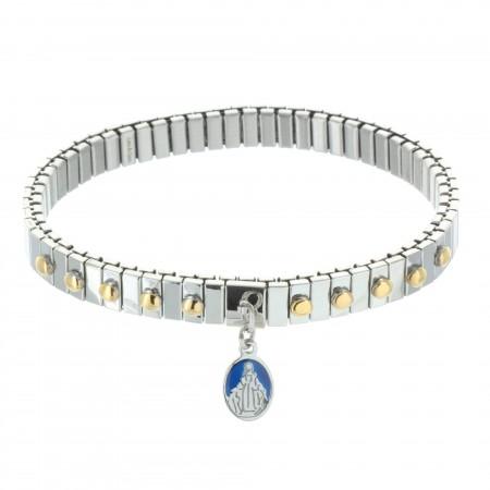 Bracelet dizainier avec une médaille Miraculeuse