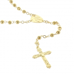 Gold-Plated Lourdes rosary