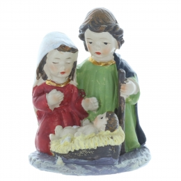 Christmas Crib with Holy Family 7cm