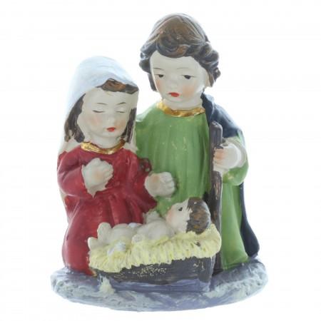 Crèche de Noël de la Sainte Famille 7cm