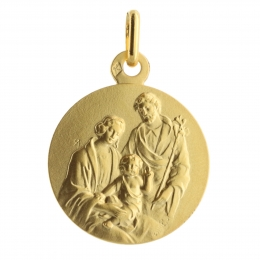 Holy Family Gold Medal 2.22g