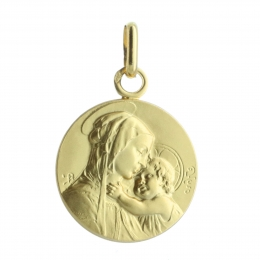 Madonna and Child Gold medal 1.62g