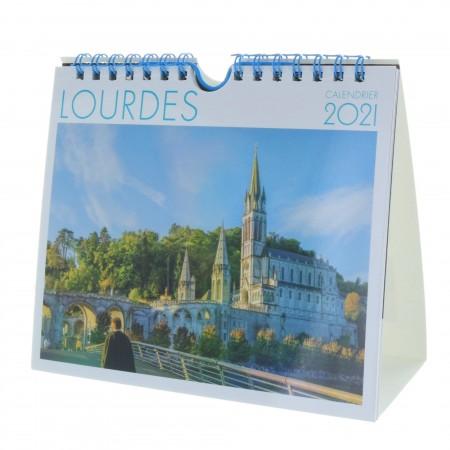 Calendrier de Lourdes 2021, format bureau