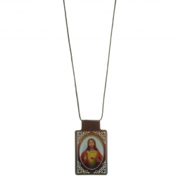 Scapular religious necklace