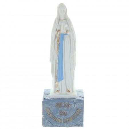 Statue de l'Immaculée Conception de Lourdes 18cm