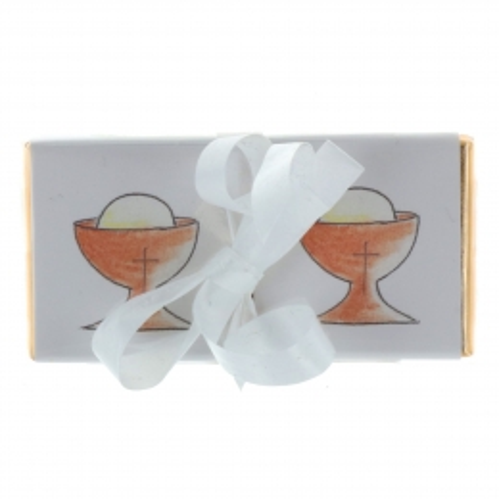 Assortiment de 4 chocolats pour les fêtes religieuses