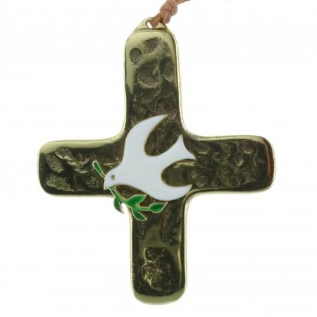 Crucifix du Saint Esprit en Bronze 9cm