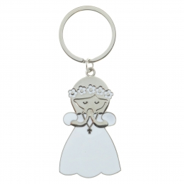 Communion key ring for girl
