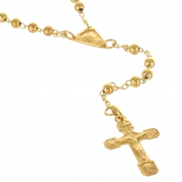 18 carats gold Lourdes rosary 750/1000-16.93G