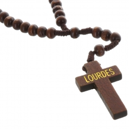 Corded Rosary of Lourdes with 20 decades