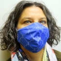 Lourdes Mask in antibacterial fabric guaranteed 50 washes