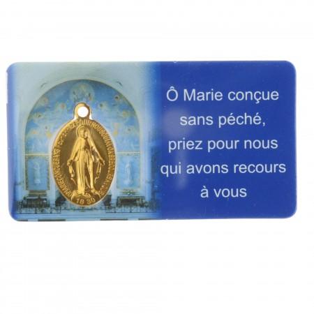 Carte Médaille Miraculeuse de la rue du Bac