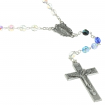 Our Lady of Grace Rosary with a decorated box
