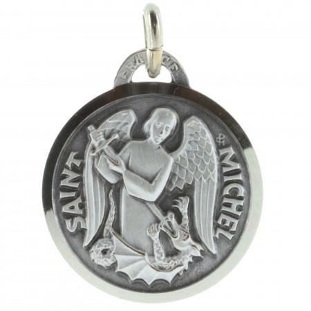 Médaille de Saint Michel argentée