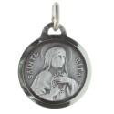 Médaille de Sainte Rita argentée
