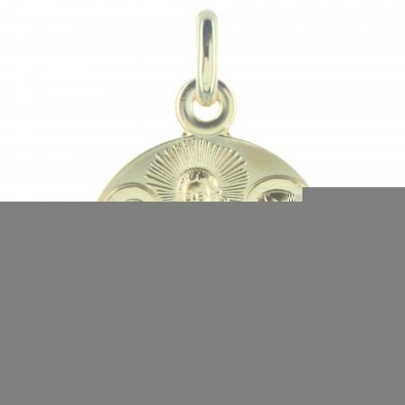 Médaille de la Sainte Famille en Plaqué Or 18 carats