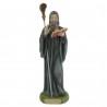 Saint Benedict Statue in coloured resin 20cm