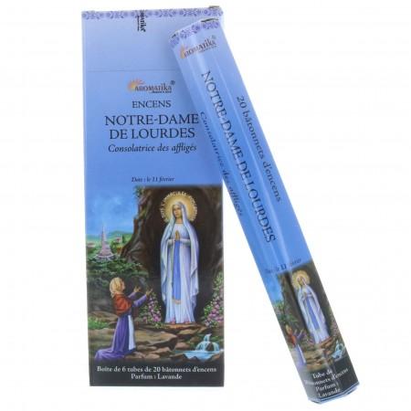 Encens religieux Notre dame de Lourdes 20 bâtonnets