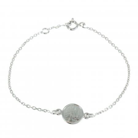 Bracciale Lourdes in argento sterling