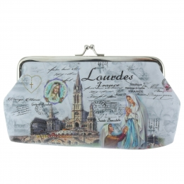 Lourdes Apparition Vintage Purse