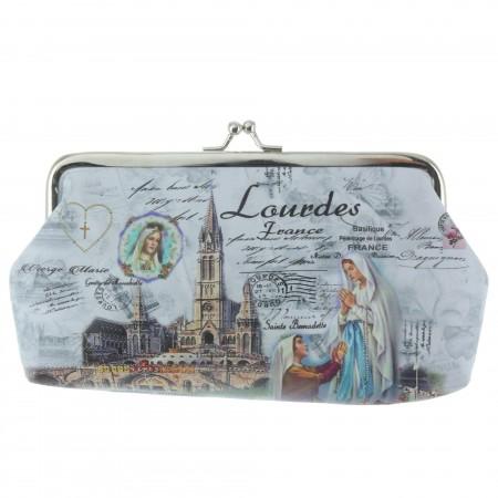 Porte-Monnaie rétro de l'Apparition de Lourdes