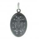 Polished Sterling Silver Miraculous Medal