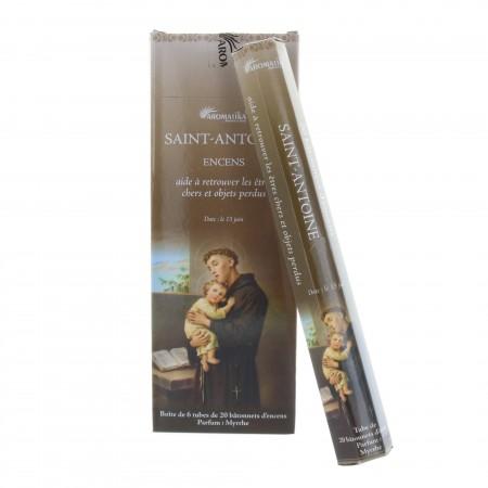 Encens religieux Saint Antoine 20 bâtonnets