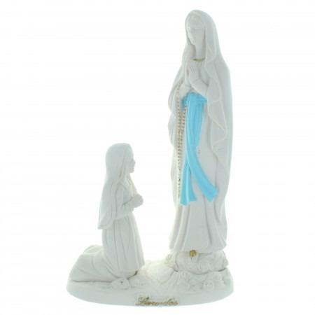 Statua preziosa dell'apparizione di Lourdes per l'esterno 22cm
