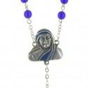 Saint Mother Teresa Glass rosary