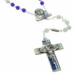 Saint Mother Teresa Glass rosary