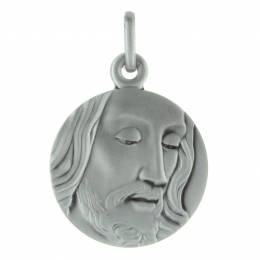 Silver medal of Christ