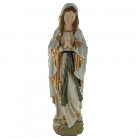 Statue de la Vierge Marie en résine style antique 60cm
