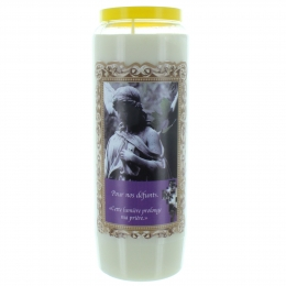 Cemetery Novena Candle 17,5cm