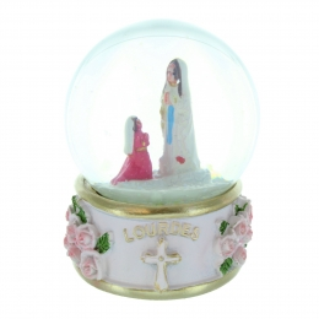 Snow globe Apparition of Lourdes