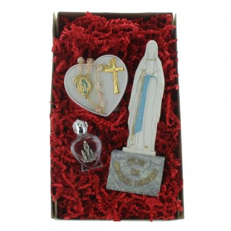 Coffret cadeau religieux de Noël, Mon chapelet de Lourdes