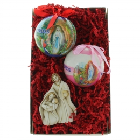 Coffret cadeau religieux de Noël, Mes décoration de sapin