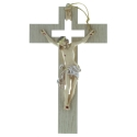 Crucifix with a realistic Christ 20cm