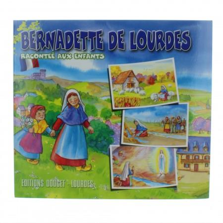 Livre de Bernadette de Lourdes pour enfants