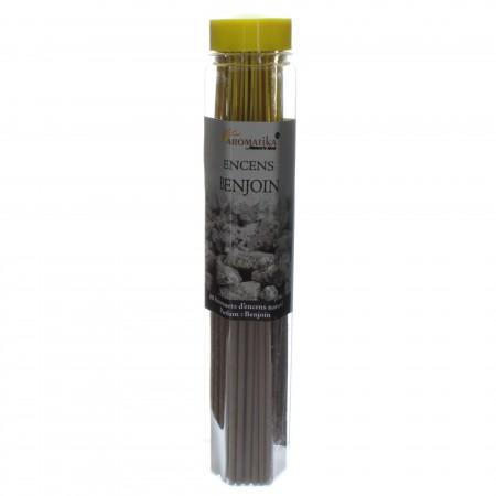 Encens religieux parfum Benjoin, tube de 80 bâtonnets