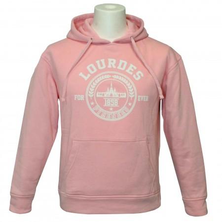 Sweat shirt Lourdes Forever en rose