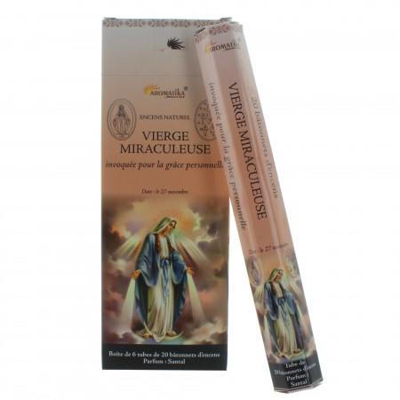 Encens religieux Vierge Miraculeuse 20 bâtonnets