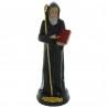 Statue de Saint Benoît en résine 30cm