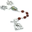 Wood rosary, Christ's Way of the Cross