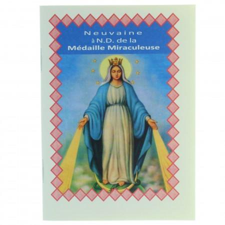 Livret de neuvaine à Notre Dame de la médaille Miraculeuse