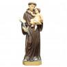 Statua di Sant'Antonio di grandi dimensioni in resina 80cm