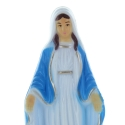 Our Lady of Grace statue decorated  resin 15cm