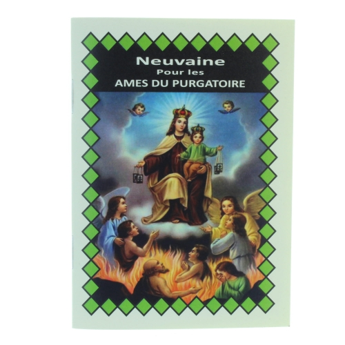 Novena booklet for holy souls in Purgatory in french