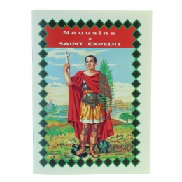 Novena booklet to Saint Expedit in french