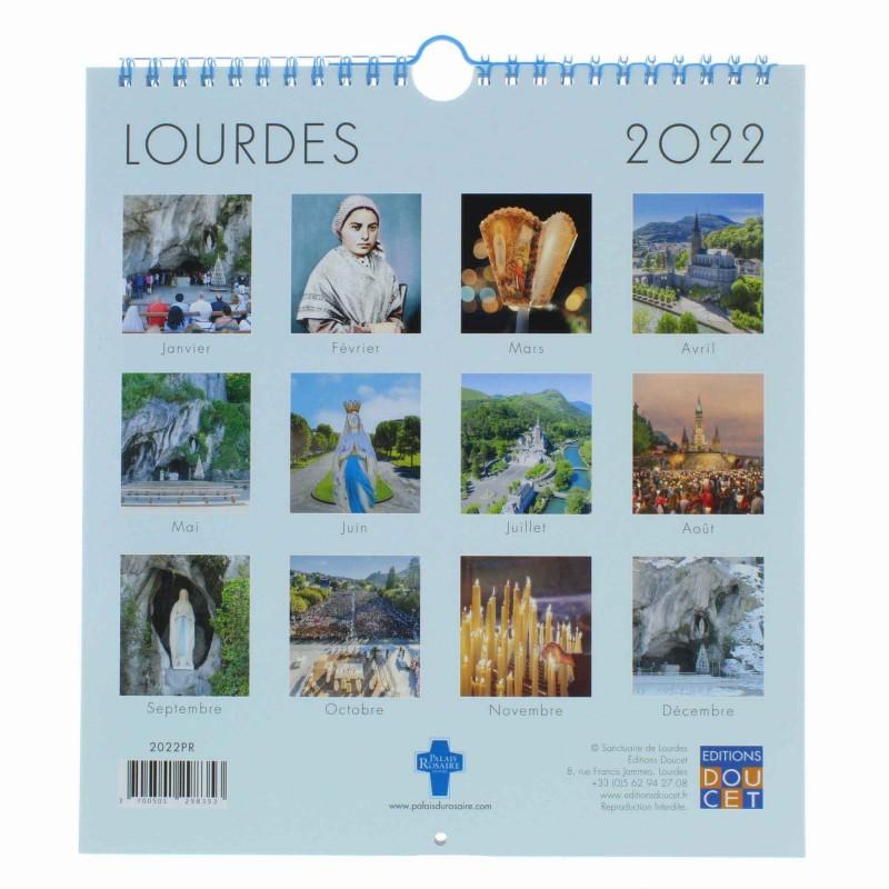 Calendrier Lourdes 2022 Calendrier de Lourdes 2022 grand format